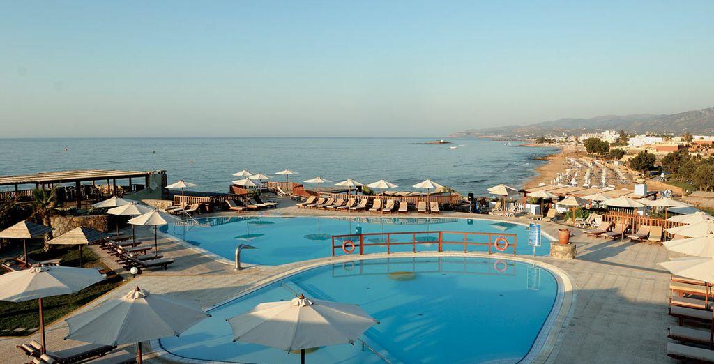 A 5* beach & spa resort - Ikaros Beach Luxury Resort & Spa***** - Crete - Greece Crete
