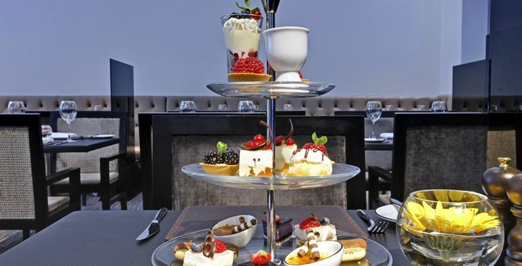 Or treat yourself to traditional high tea
