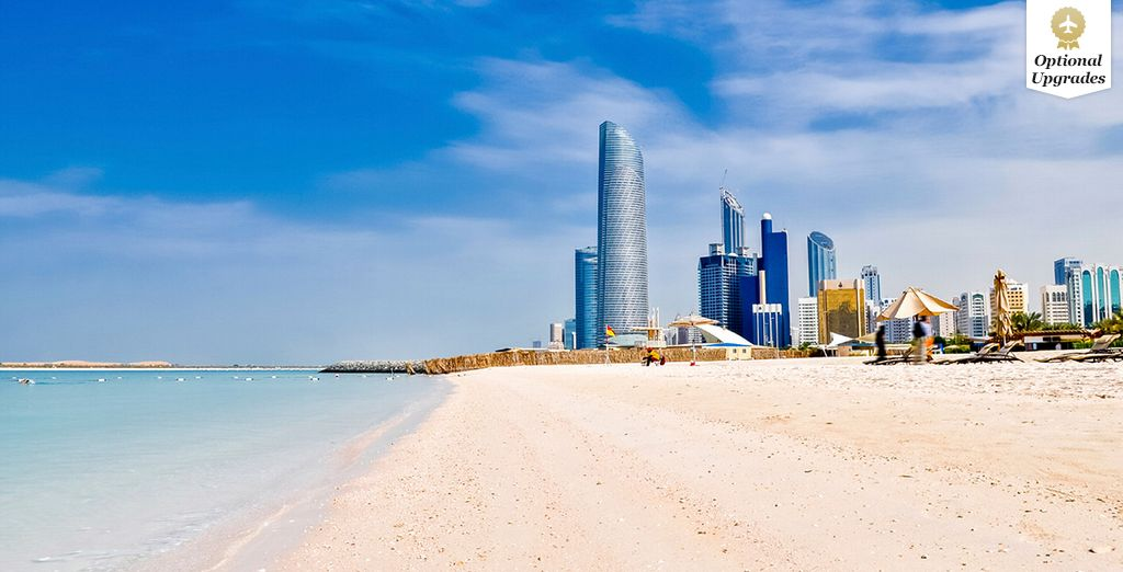 In need of some pristine beaches? - Grand Millennium Al Wahda 5* Abu Dhabi