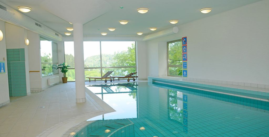 And has lovely leisure facilities