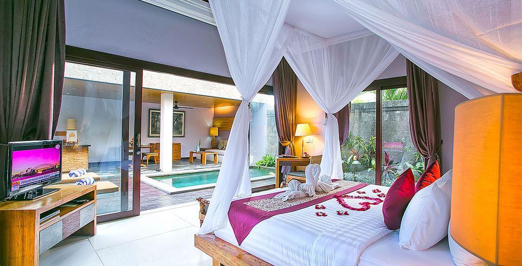Enjoy your outdoor terrace ...