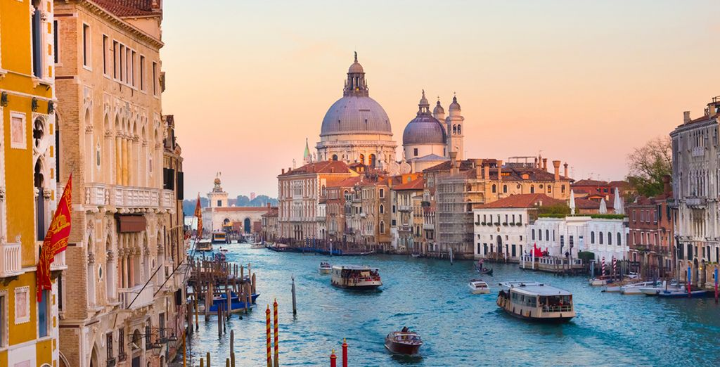 And immerse yourself in the majesty of Venice