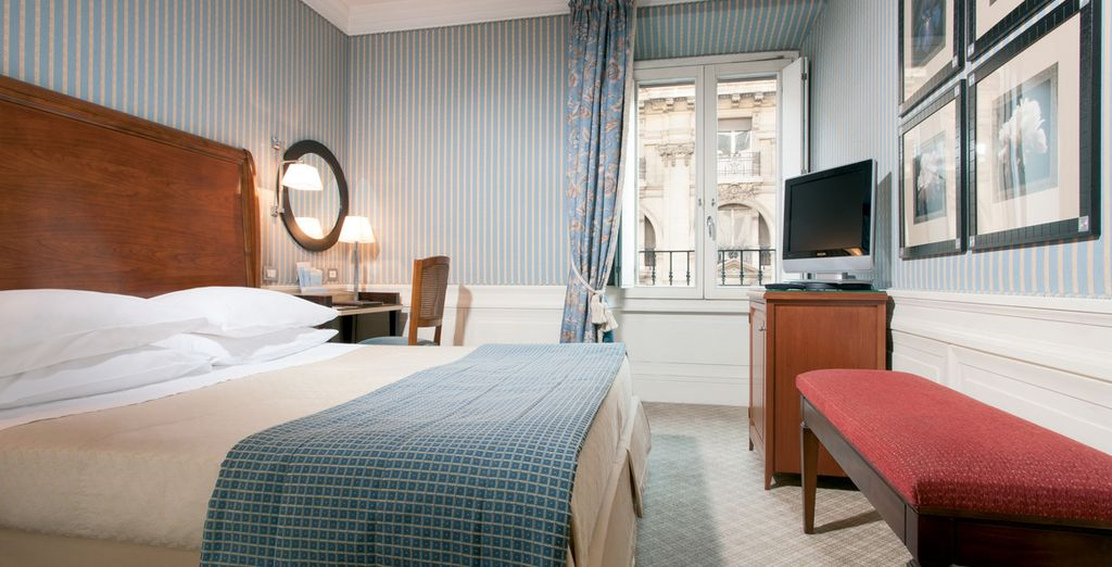 Settle into one of the hotel's relaxing rooms (pictured: Classic Room)