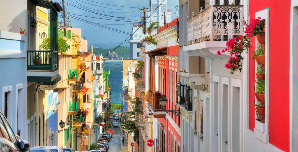 Roam the colourful streets of San Juan, Puerto Rico