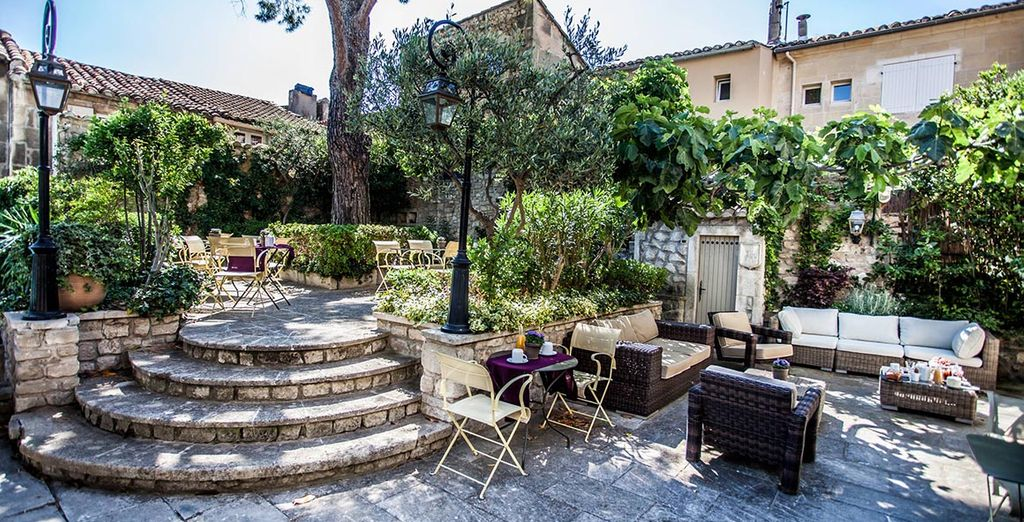 Set in beautiful Provence