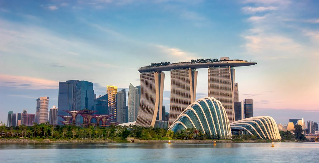 Why not add a 2 night stopover in Singapore at the start of your trip?