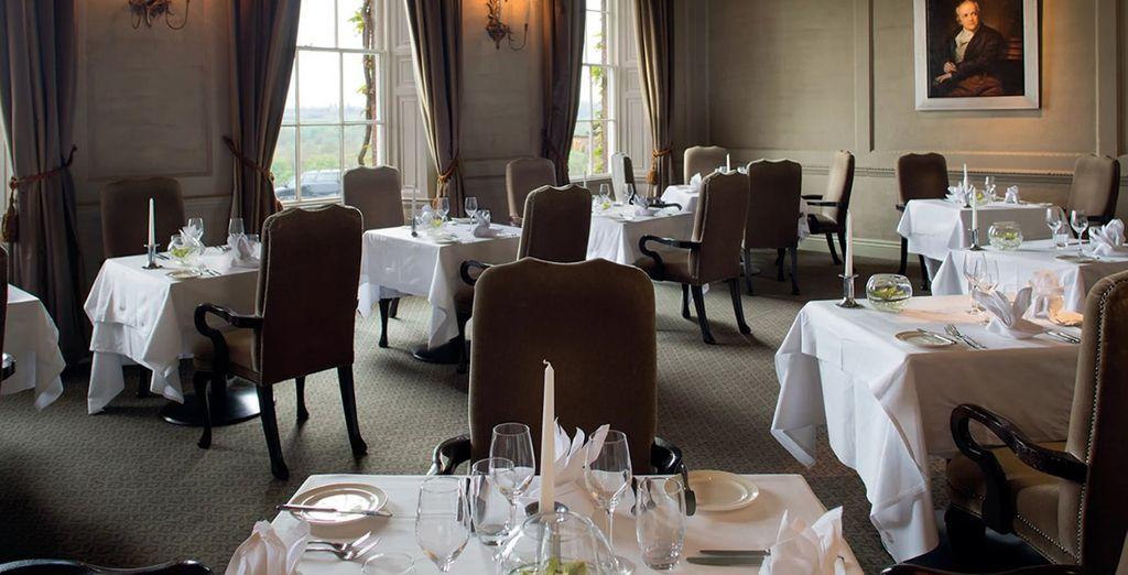 Sample 2AA Rosette-awarded fine dining cuisine
