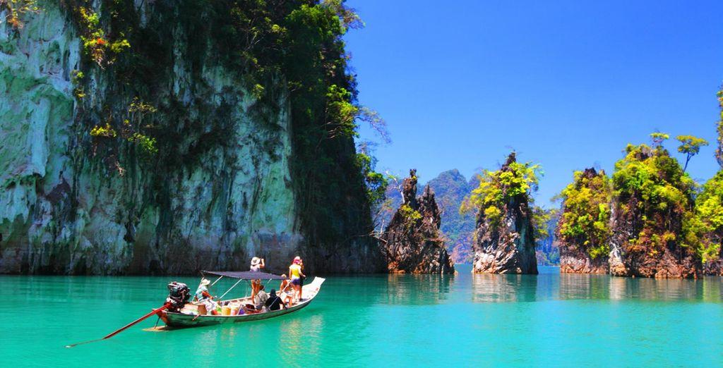 Discover Bangkok, Khao Sok & Khao Lak all in one trip!