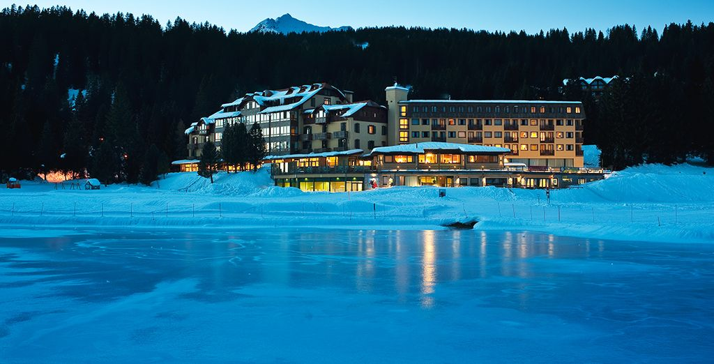 Located in one of the finest ski resorts in the Alps