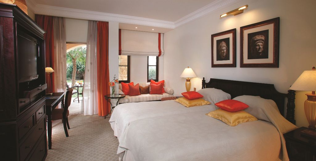 Our members will stay in a spacious Deluxe Room