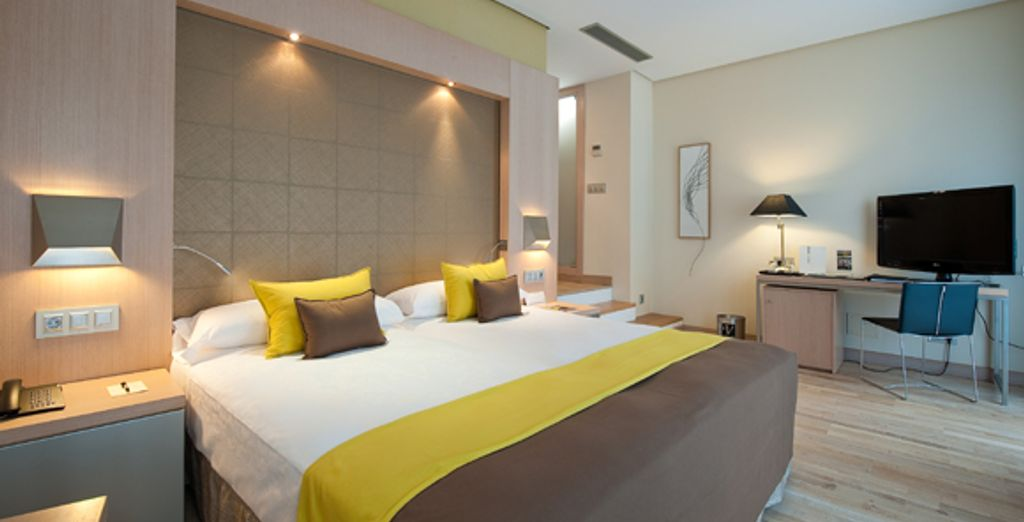 Comfy rooms in which to settle down and relax