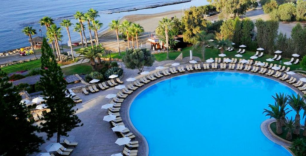 Enjoy a holiday of sunny adventure - Hotel Le Meridien Limassol*****- Limassol - Cyprus Limassol