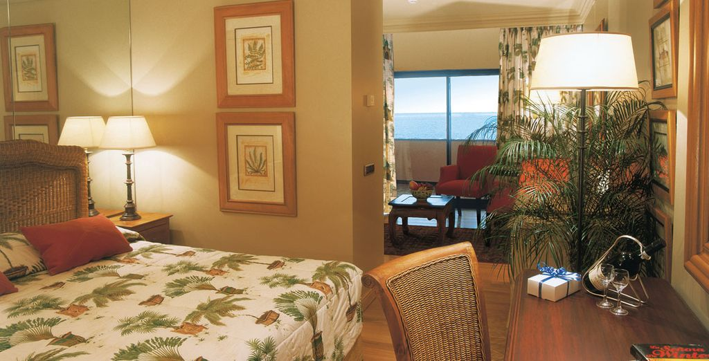 You will stay in a fantastic Ocean View Double Room