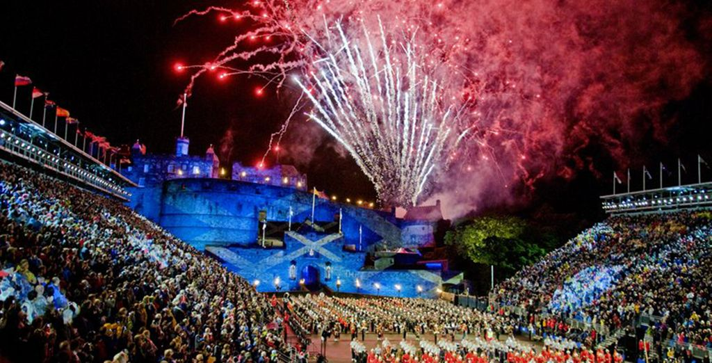 With your top-price Edinburgh Tattoo tickets you will have a great view