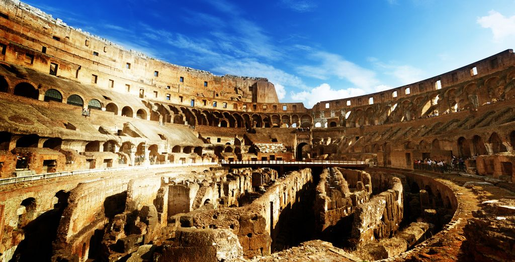 Then head out to explore the city steeped in history