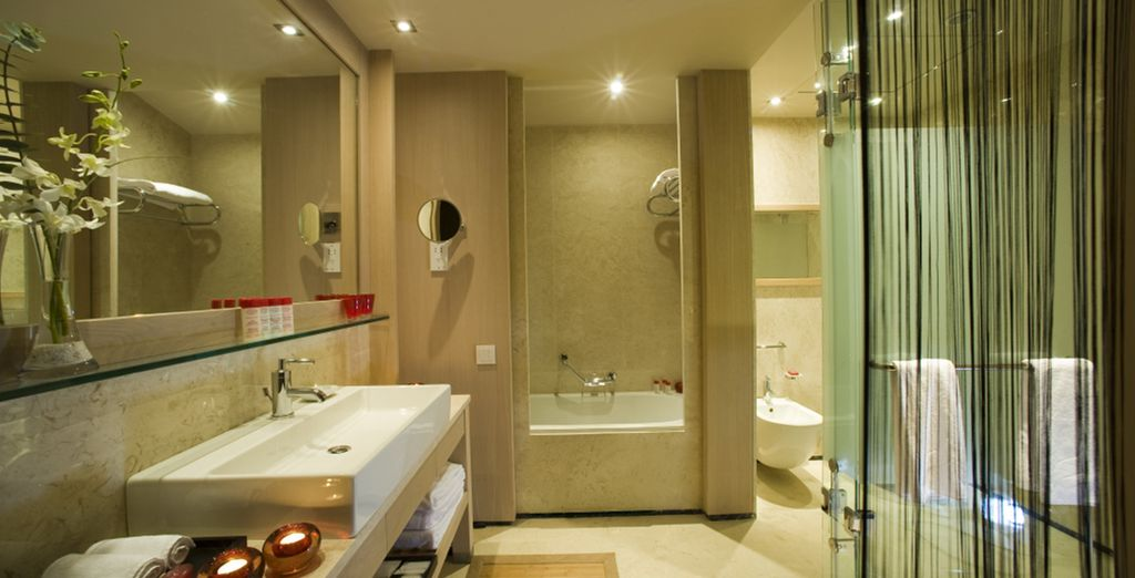 All rooms feature sleek and elegant design