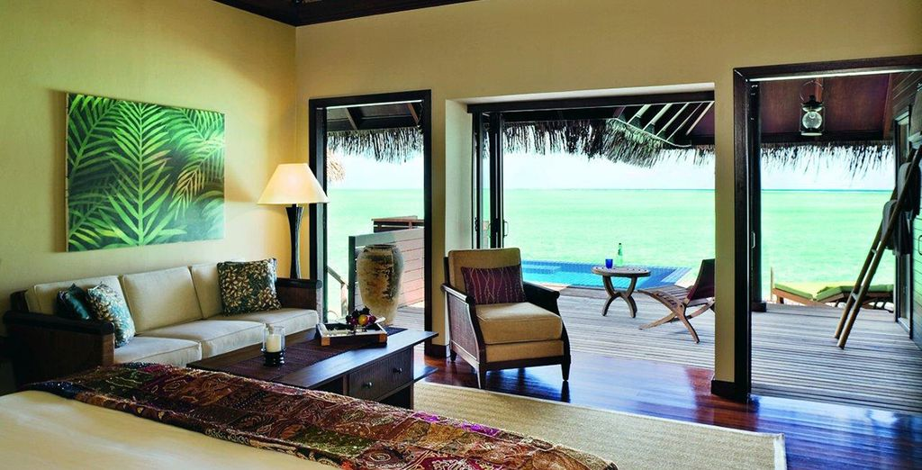 Discover the bliss of your Deluxe Lagoon Villa