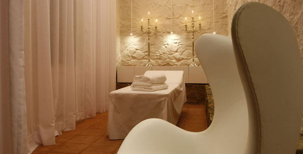 Our members can enjoy a free spa treatment