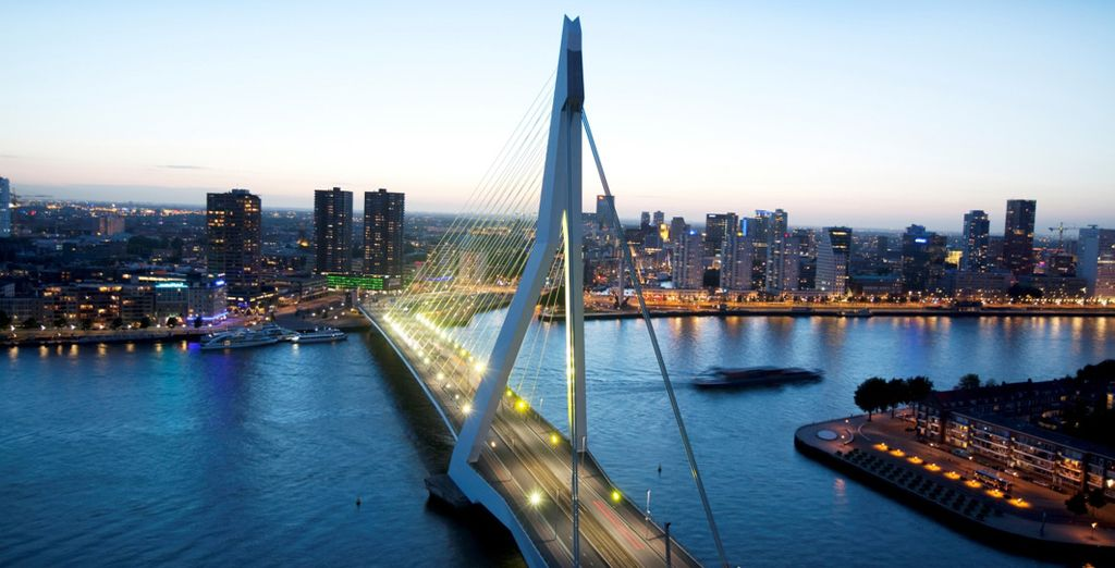 The city of Rotterdam awaits