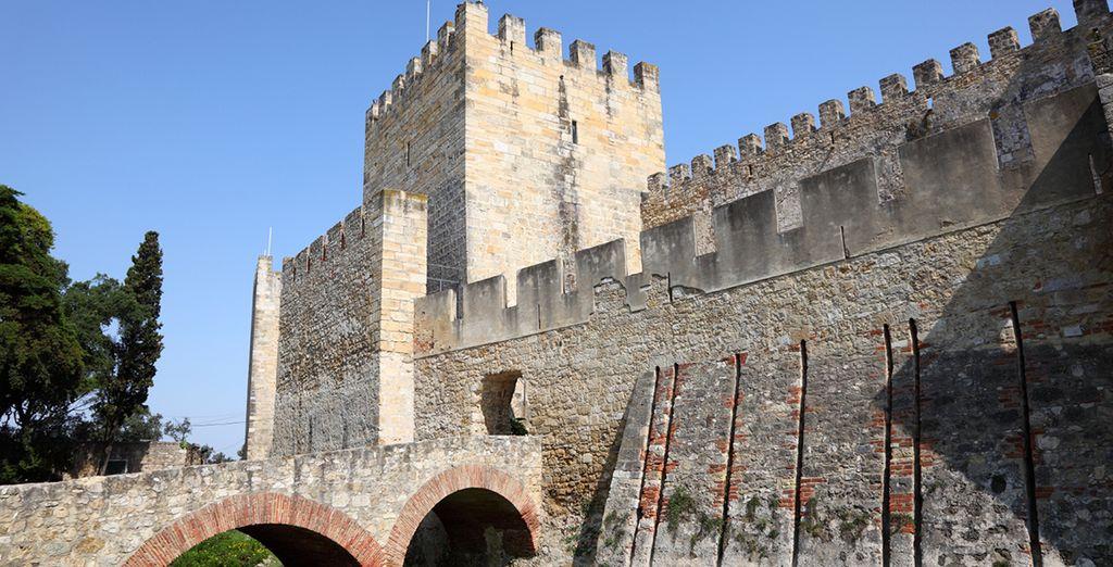 São Jorge Castle in Lisbon