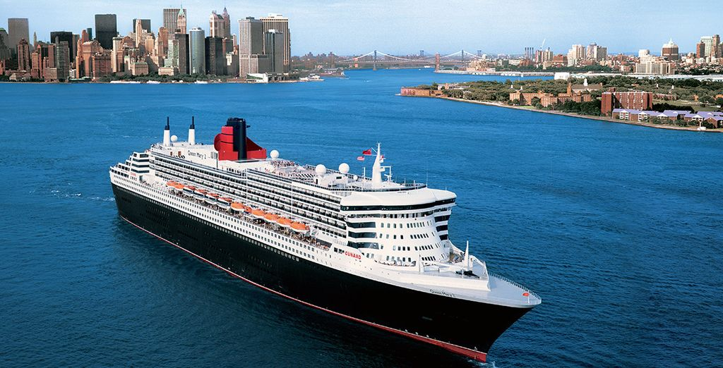 Enjoy a transatlantic cruise on the iconic Queen Mary 2 - Queen Mary 2 Cruise Reykjavik, Boston & New York