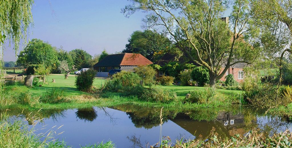 And escape to the 'Garden of England' - Frasers Coldharbour Farm 4* Kent