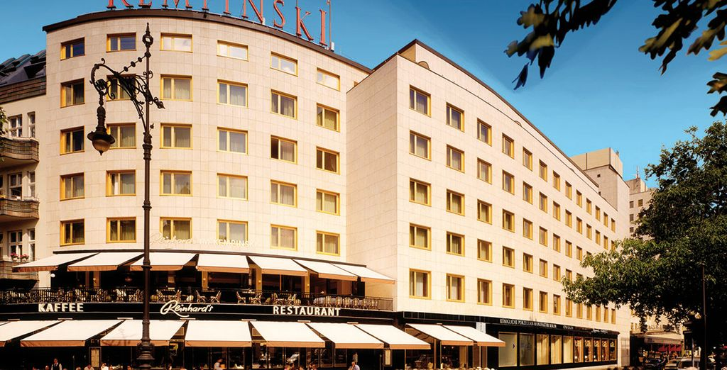 This central & easy-to-access hotel is perfect for exploring this highlights of Berlin