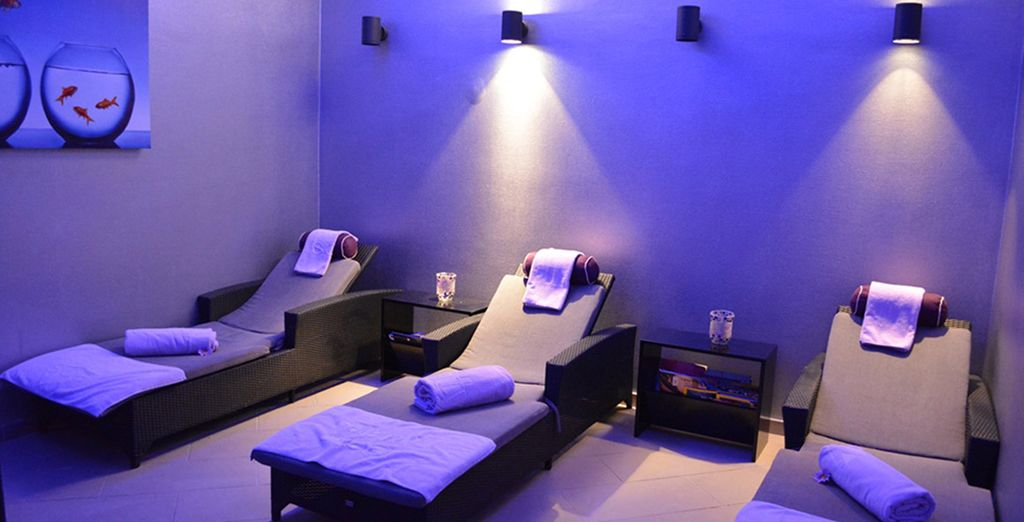 Or let your stress melt away with a spa treatment