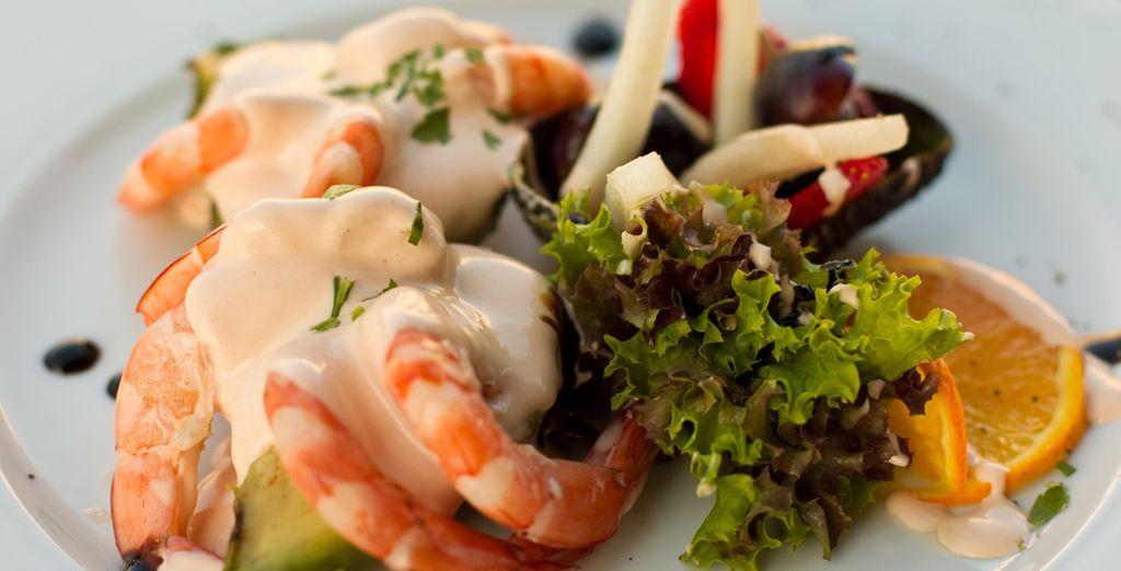 Sample the high quality Spanish gastronomy