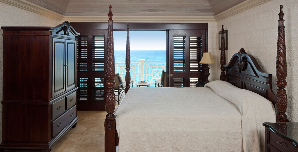 Or upgrade to a One Bedroom Sea View