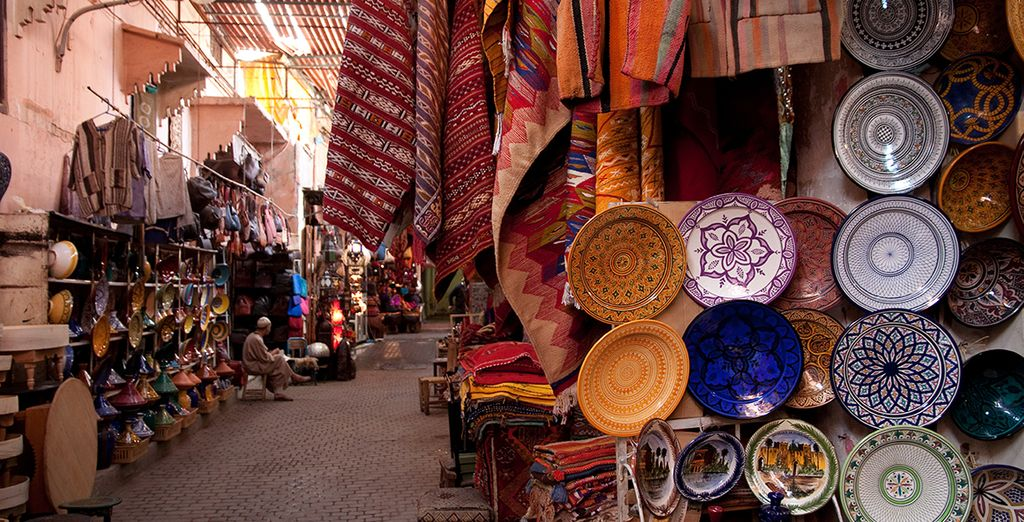 Head off and explore Marrakech