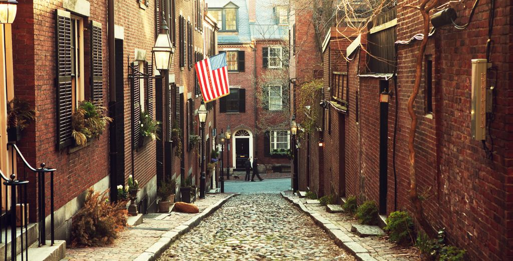 Then move on to the cobbled streets of Boston