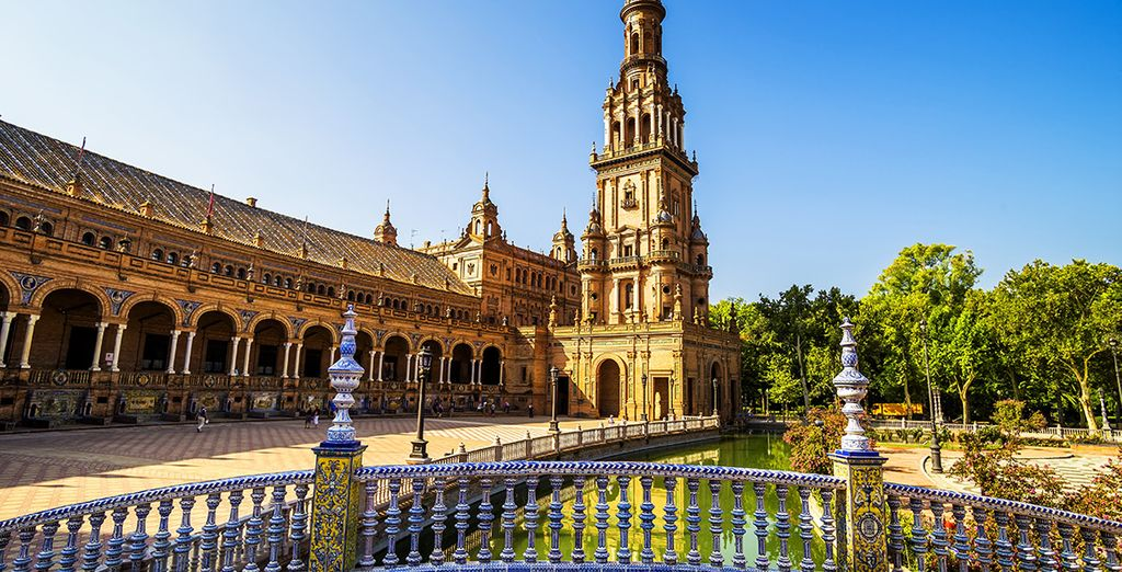 In the charming city of Seville