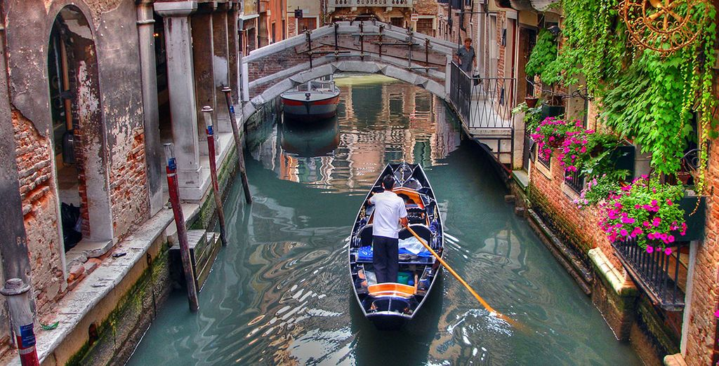 Explore the city's unique waterways