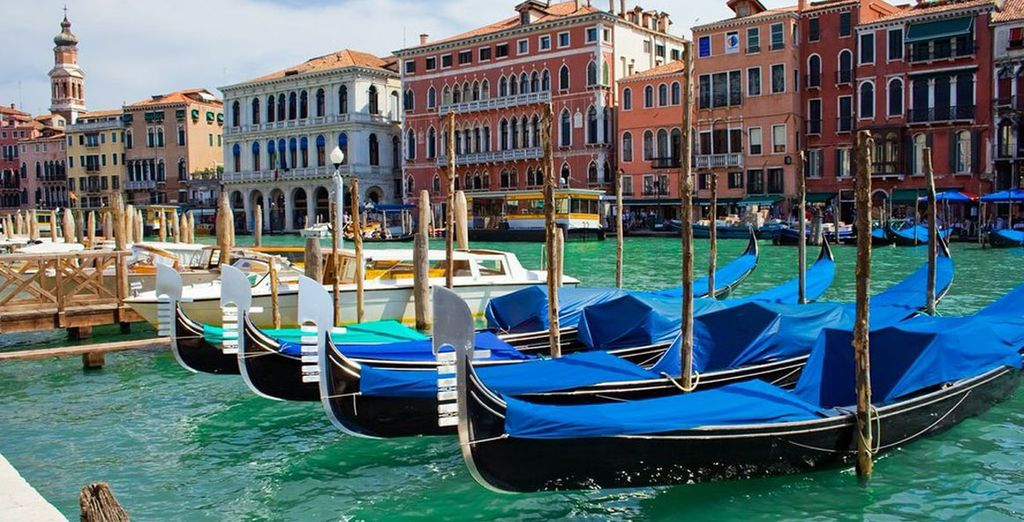 Romance Along Venice's Waterways