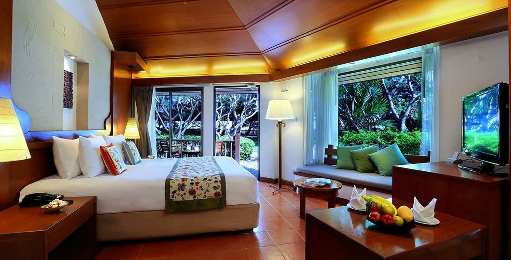 Stay in a gorgeously sleek Anavana Room