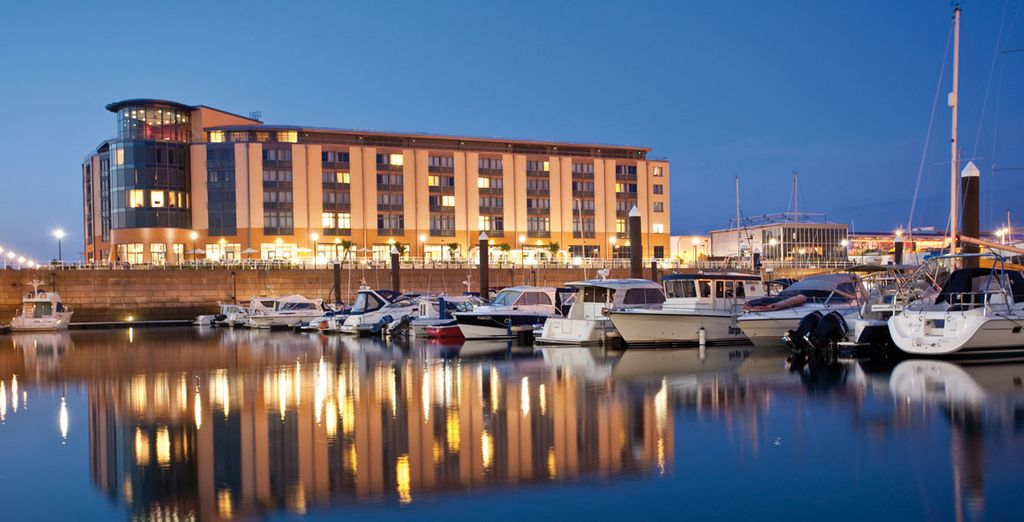 Venture to Jersey for a stay at this superb waterfront hotel