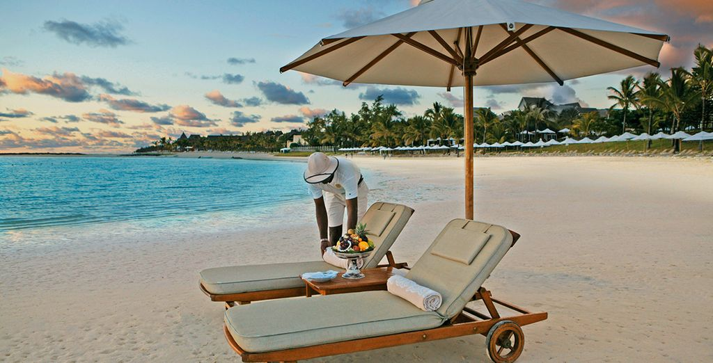 Experience a luxuriant desert island escape in Mauritius...