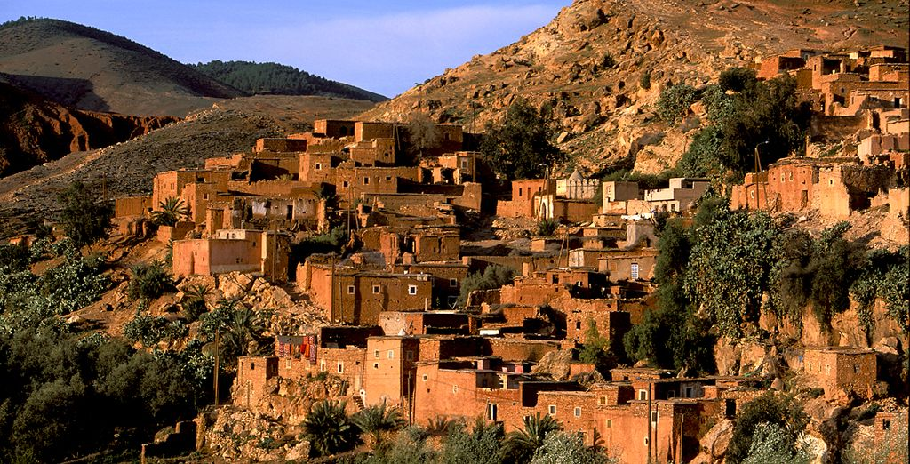 Trek through the sweltering heat of Morocco's deserts - Morocco Desert Tour Atlas Mountains