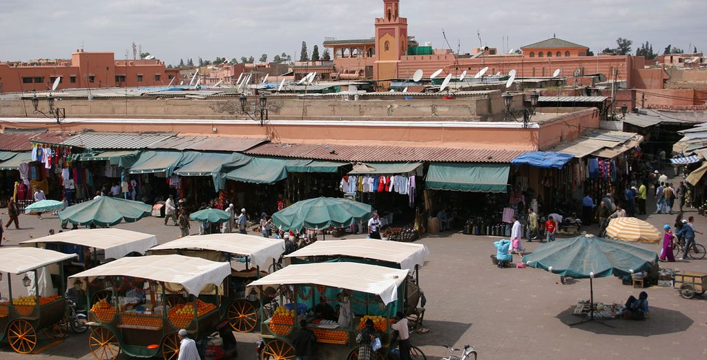 Soak up the bustling vibes of the market