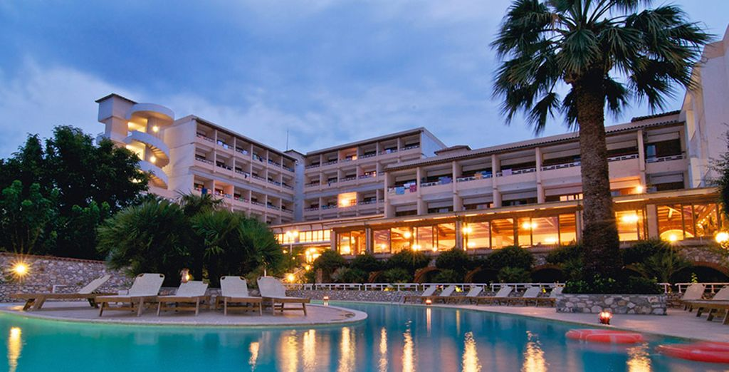 Experience it now at the 4* Esperides Beach Hotel