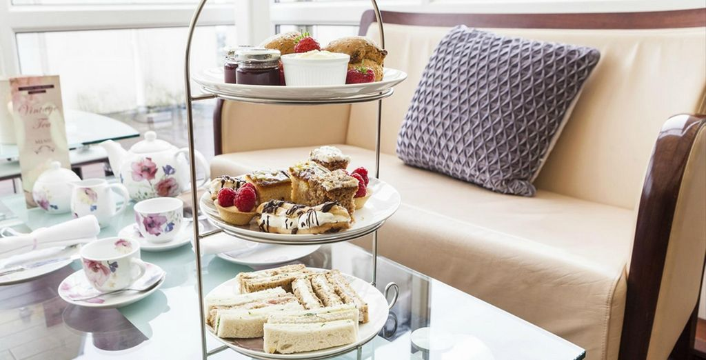 After exploring in the fresh air, why not indulge in a delicious Afternoon Tea?