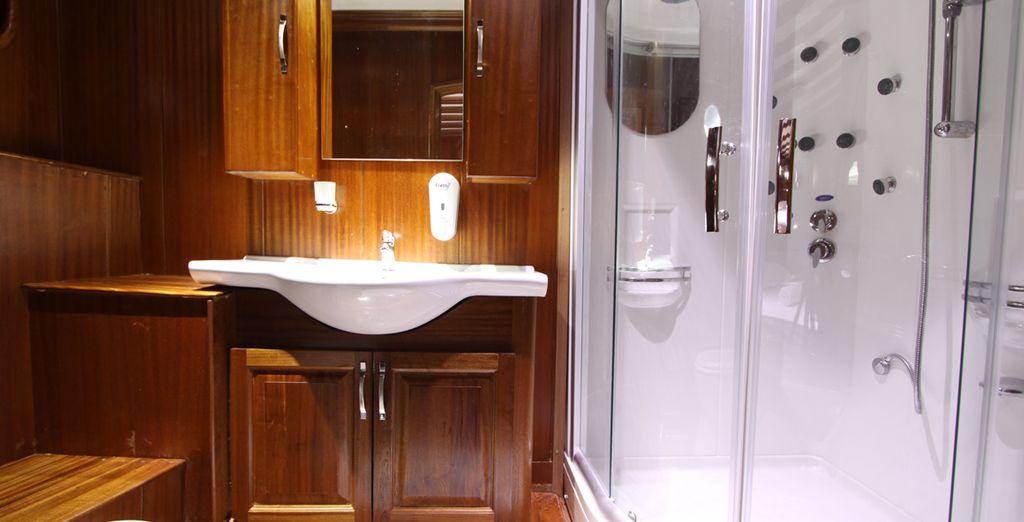 With an en-suite bathroom