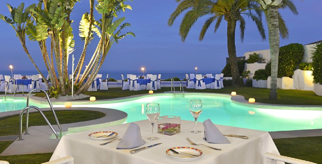 Whether you want relaxed al fresco or romantic fine dining
