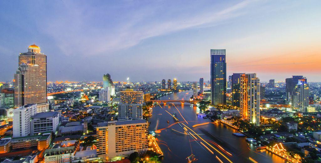 First, start in the 'City of Angels' - Bangkok - Royal Orchid Sheraton & Cape Nidhra 5* Bangkok & Hua Hin