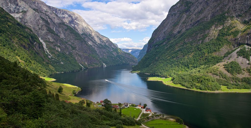 Journey through the magnificent mountains and fjords of Norway