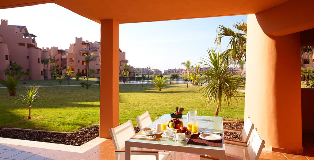 You can dive right in and bask in the Spanish sunshine!