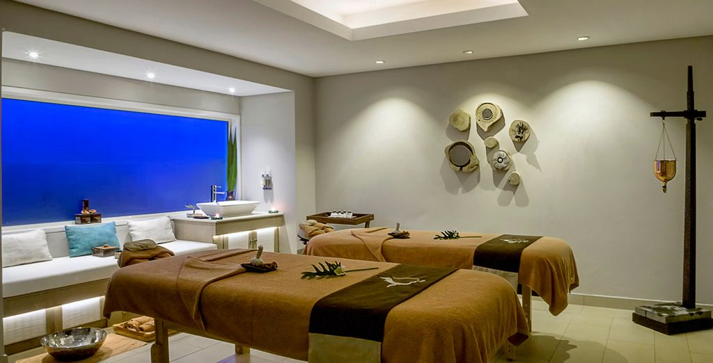 Relax with an indulgent spa treatment