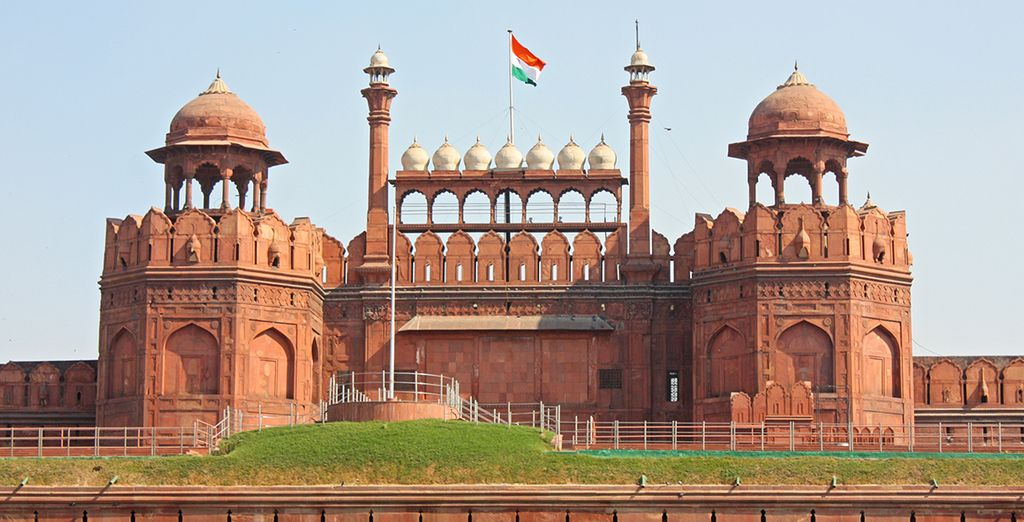 From where you'll discover the Red Fort Agra