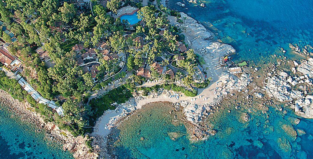 Within the expansive Arbatax Park Resort in beautiful Sardinia